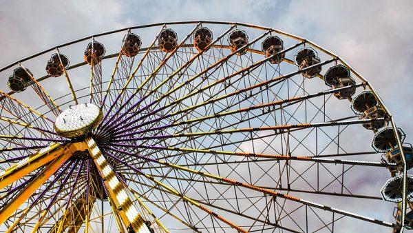 Ferris Wheel at Tuileries Gardens