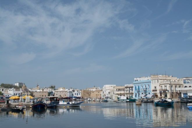 view of a seaside town in the unique destination of Tunisia - Abbie Synan
