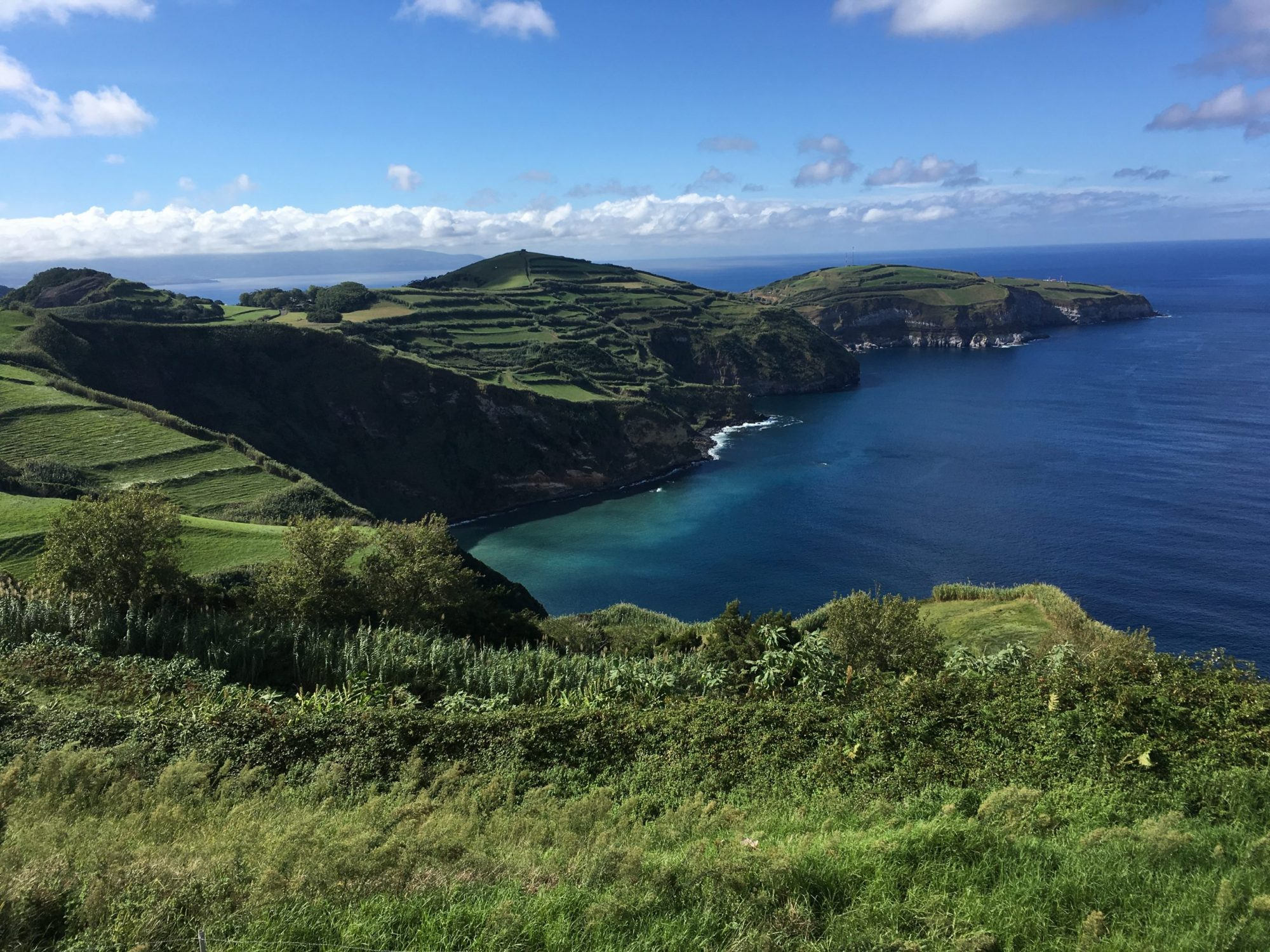 View from Sao Miguel in the Azores from Amanda Walkins