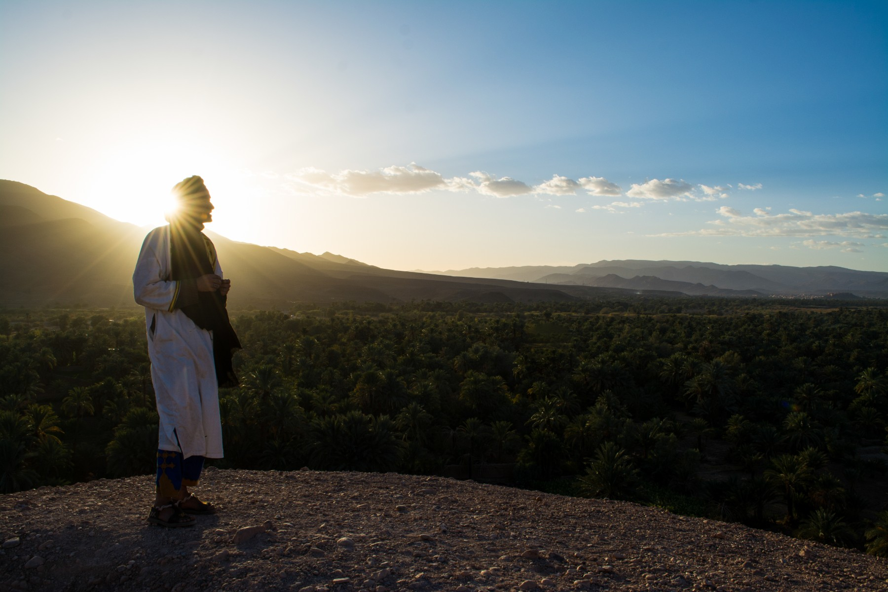 sustainable tour option in Morocco with local guides