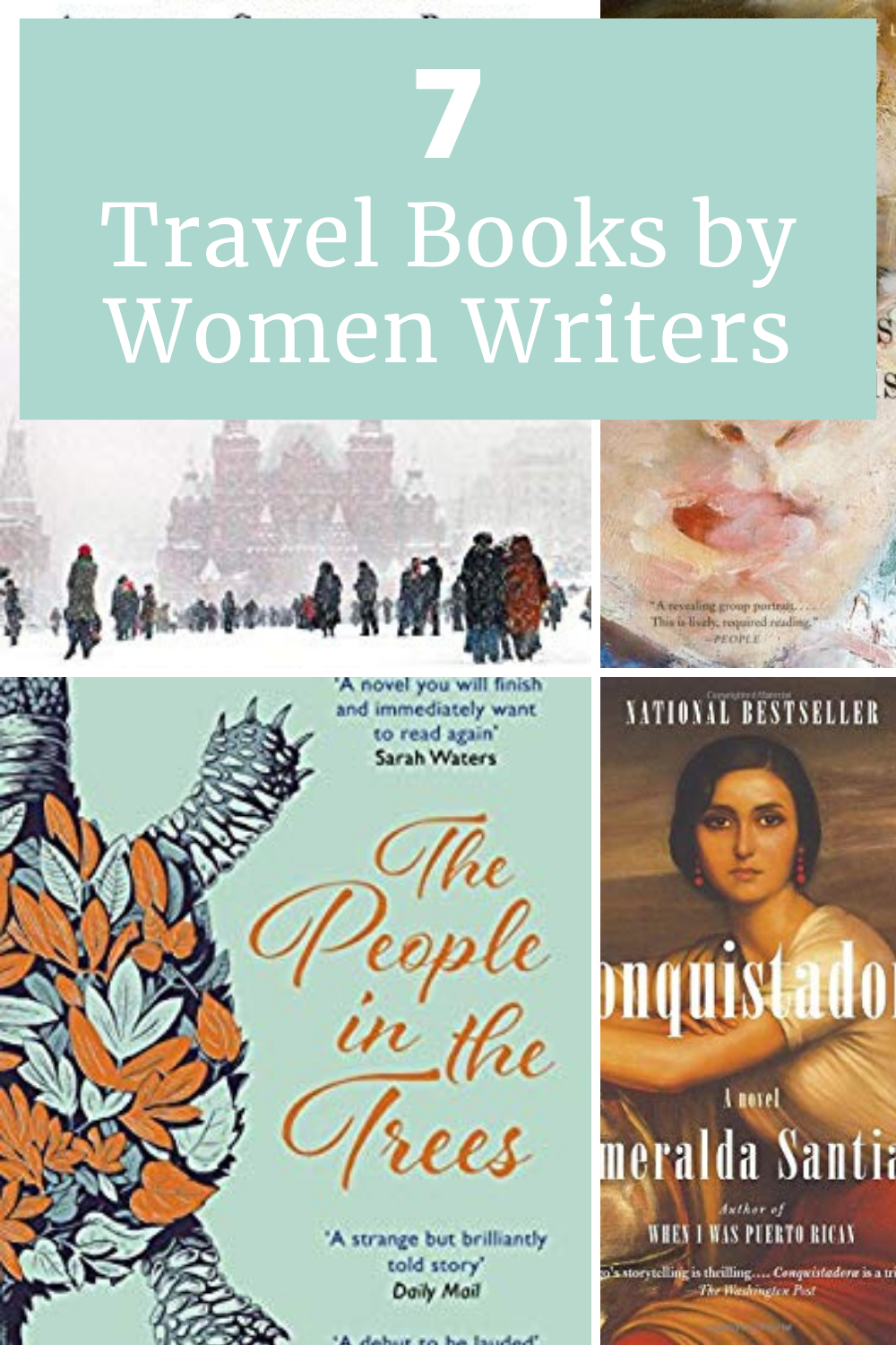Travel books by women writers can inspire us to journey through time and to different places. Explore the world from your armchair with these great reads by women!