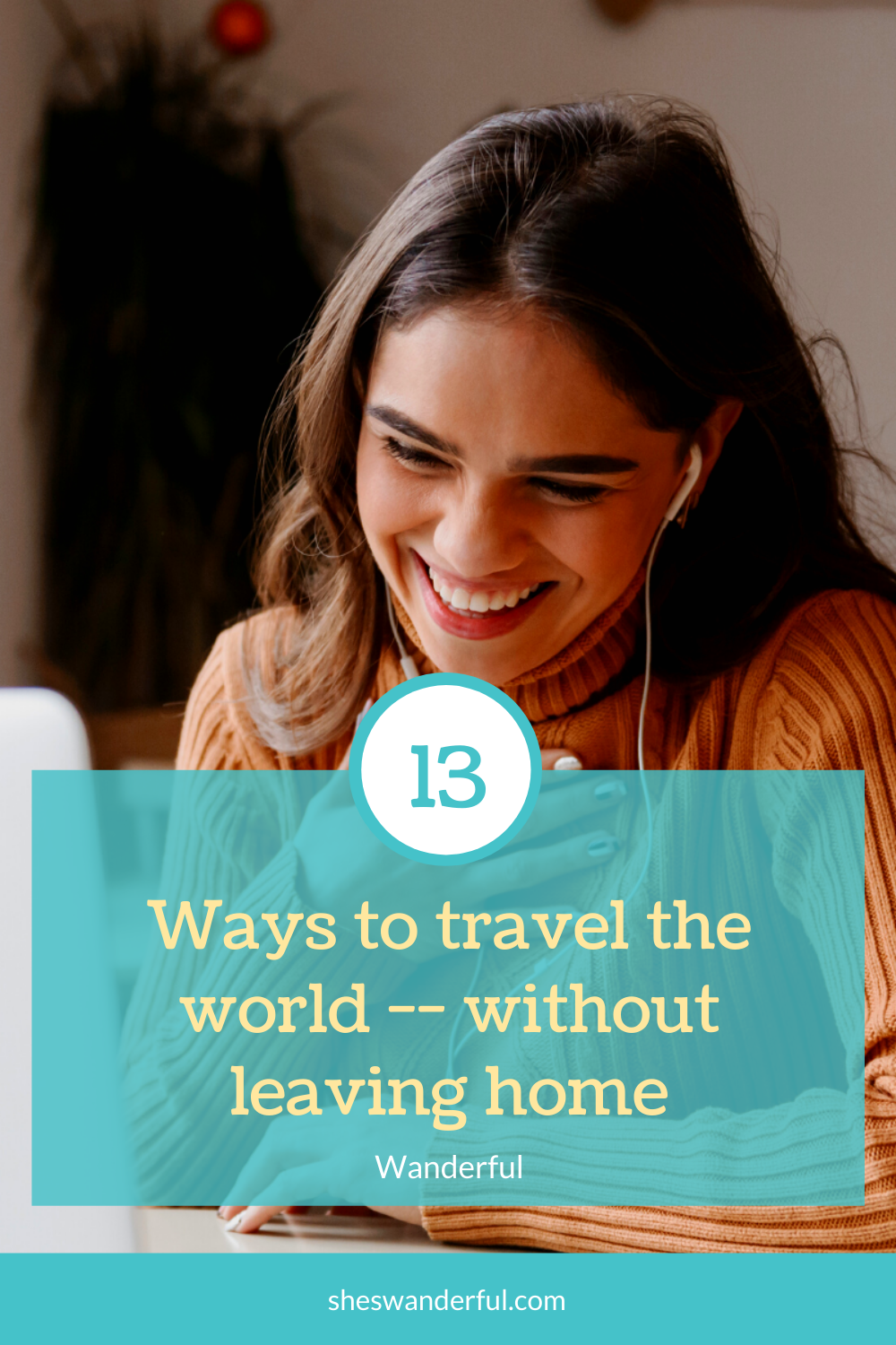 Virtual travel events so you can meet globally-minded women and share your love of travel, culture, language, and more! All events by Wanderful, the global women's travel community