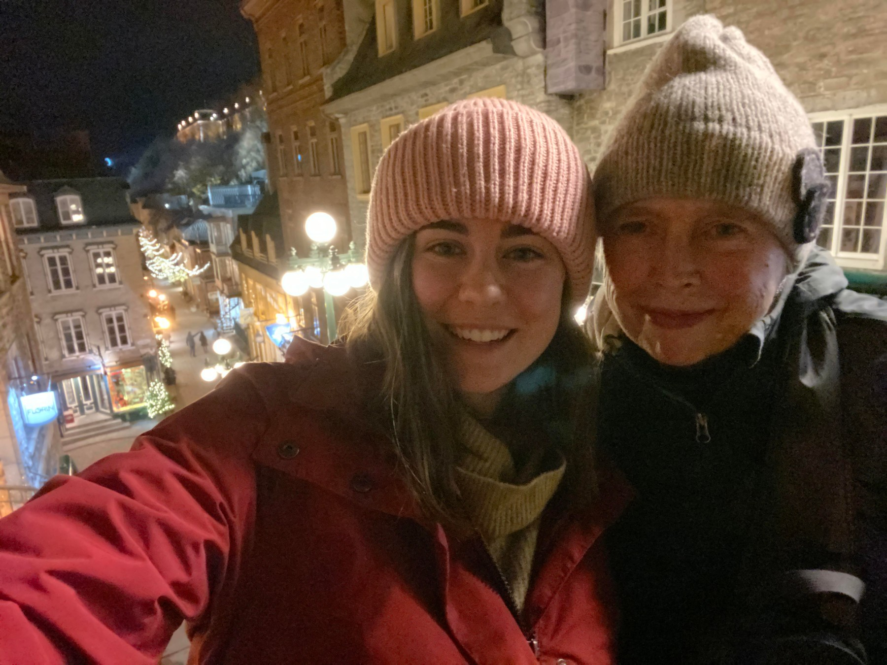 mother-daughter travel selfie by Sarah Bence