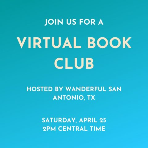 virtual travel book club with the Wanderful San Antonio Texas Chapter