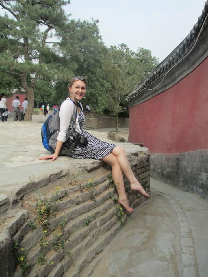 Samantha Weiss travel writer in China