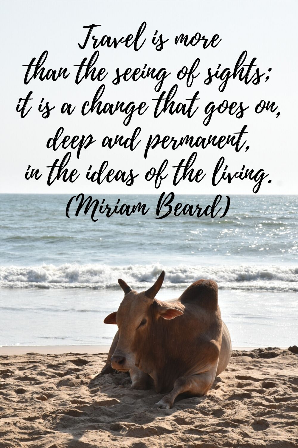 travel quotes by women - Miriam Beard