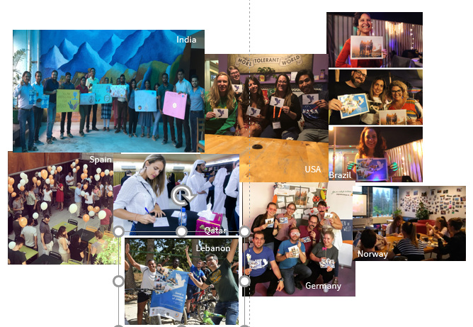 sample photo collage for influencers to provide to brands -- from Netanya Trimboli for Wanderful