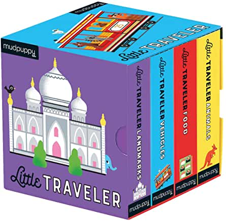 Little Traveler board books set