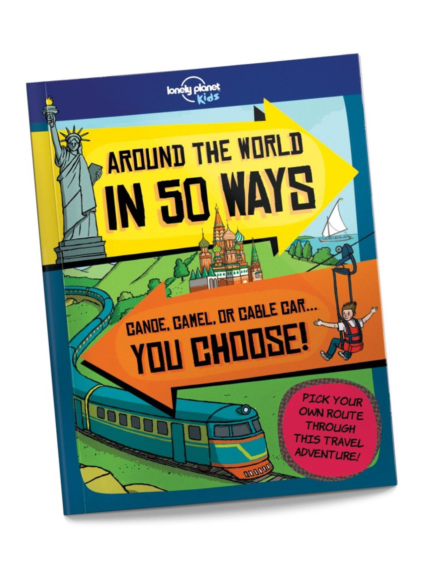 Around the World in 50 Ways - books for kids to learn about the world