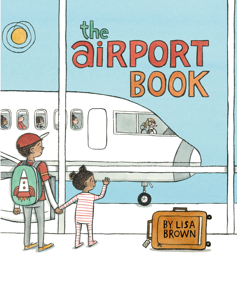 The Airport Book for kids to learn about travel