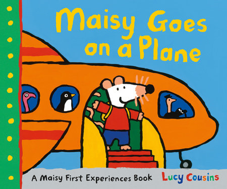 Maisy Goes on a Plane - kids books about travel