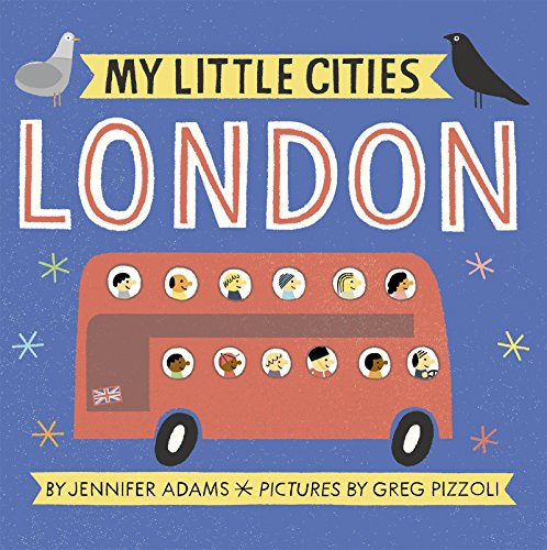 My Little Cities London - kids travel books