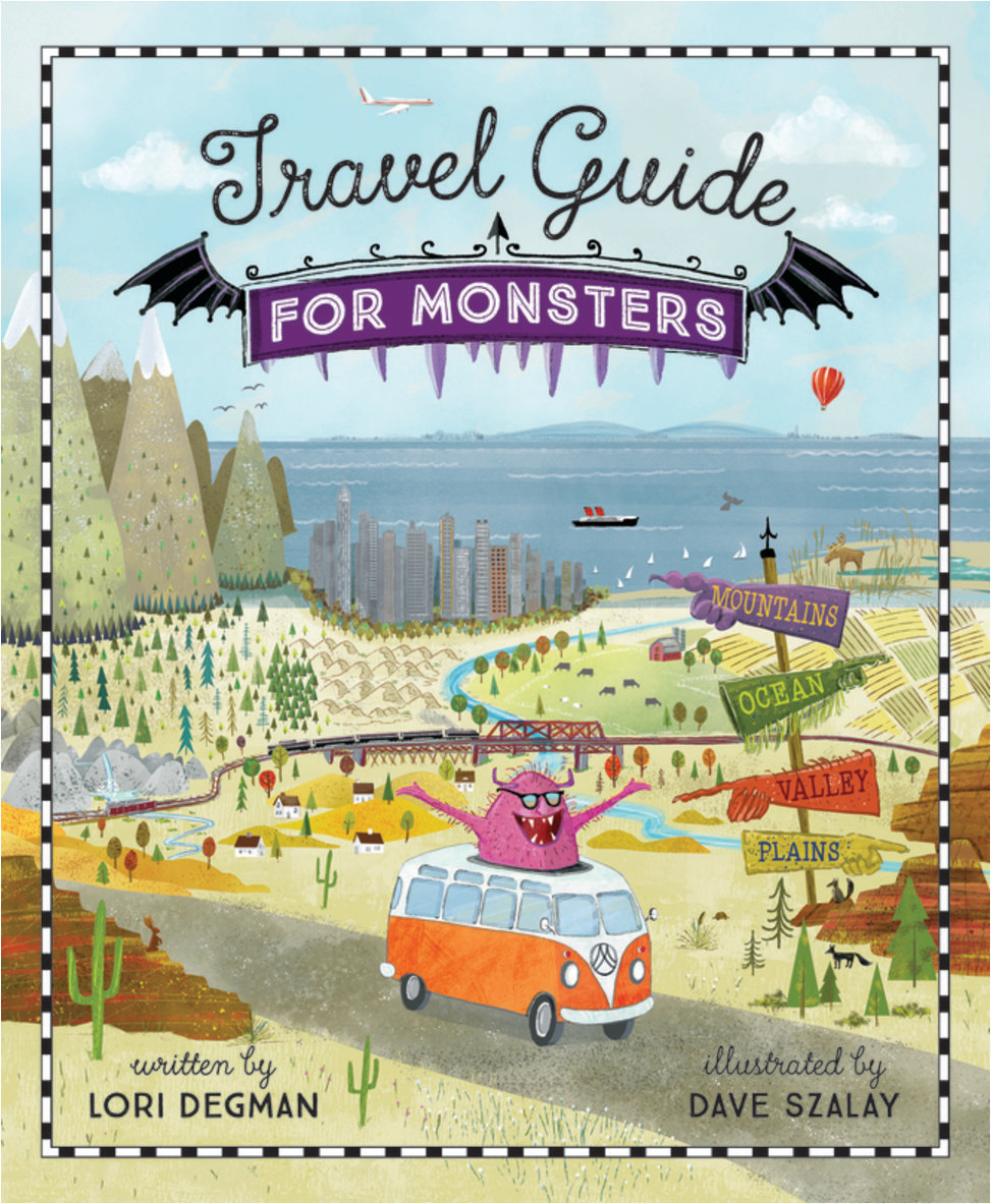 Travel Guide for Monsters - travel books for kids