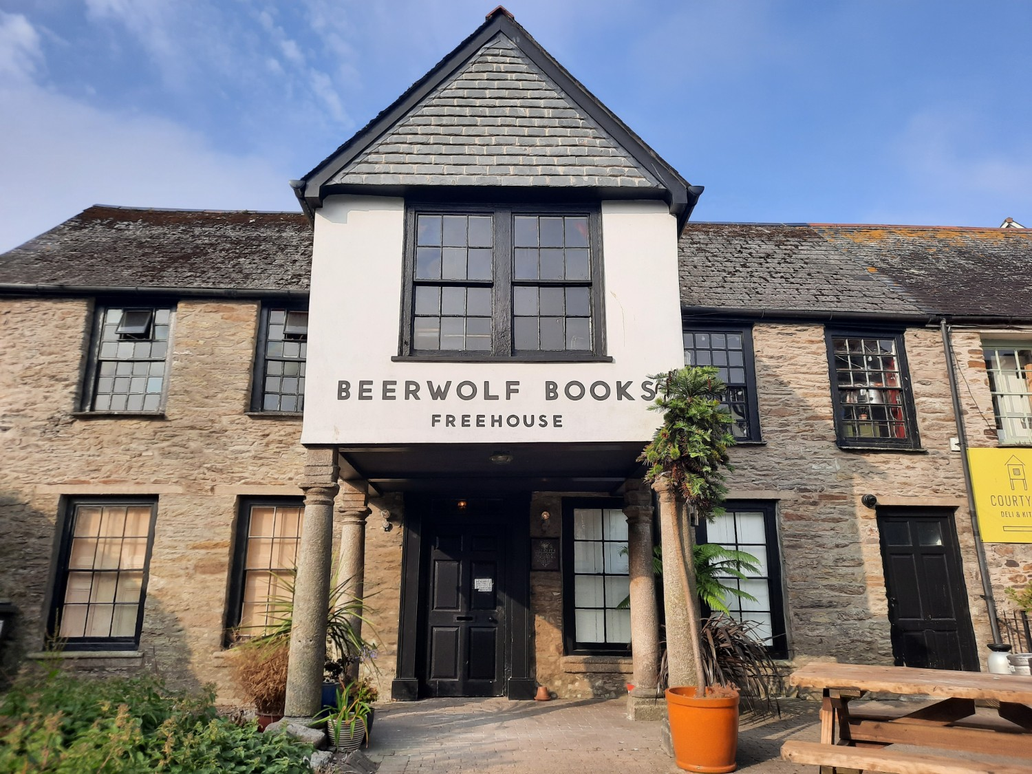 Beerwolf Books in Falmouth Cornwall