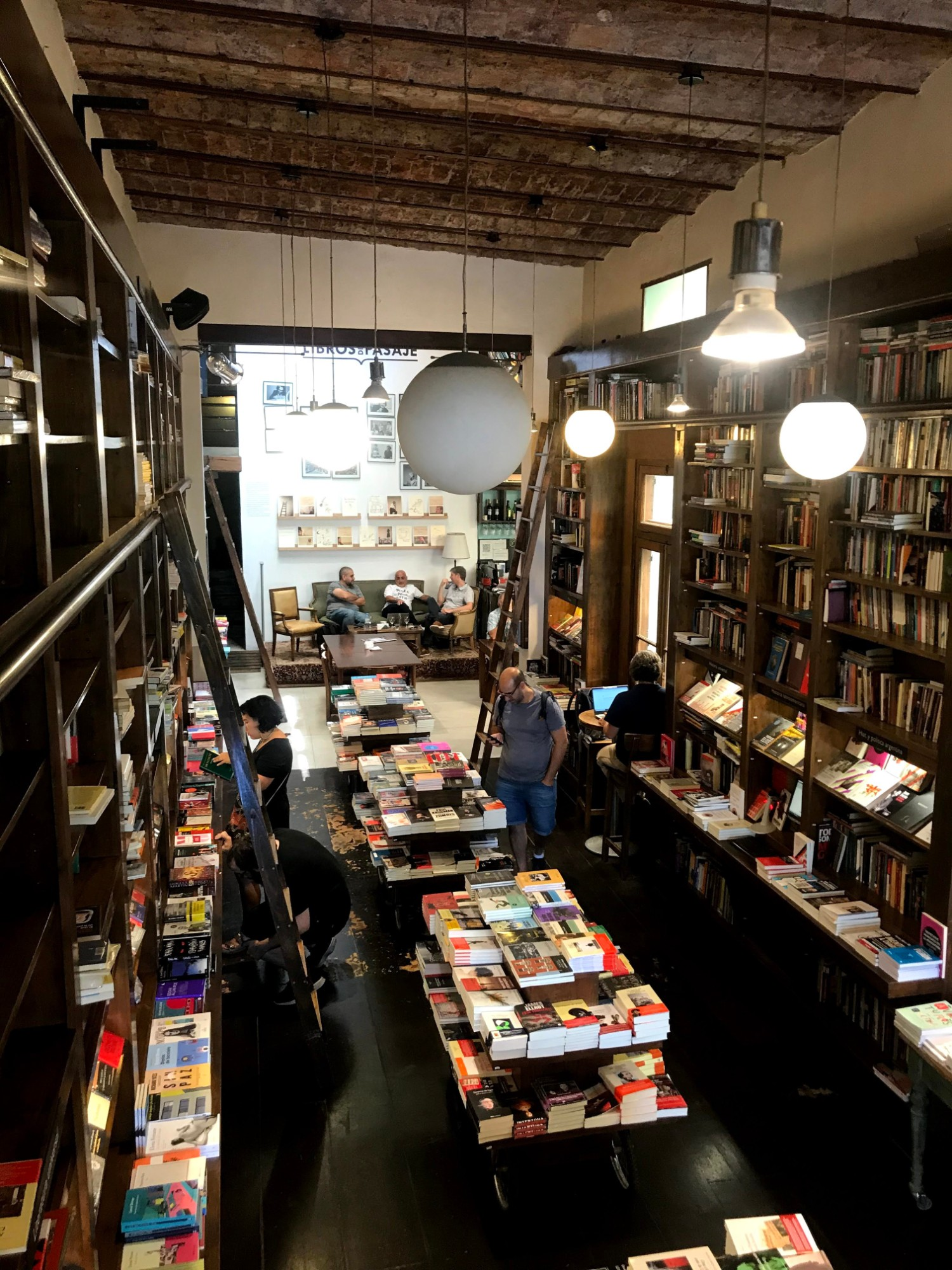 Libros del Pasaje bookshop in Buenos Aires - a travelling book lover's dream come true