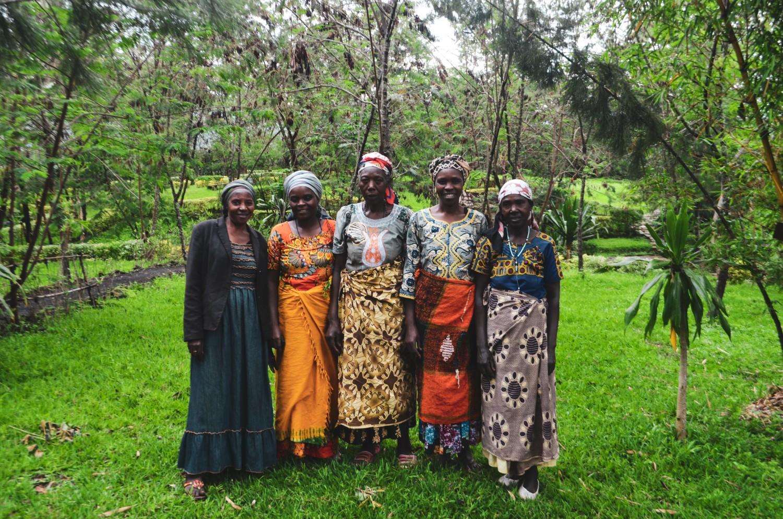 Women of Rwanda standing together to rebuild their broken nation