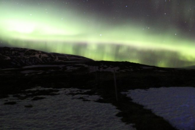 Northern Lights in Iceland - photo credit Laura Harris for Wanderful