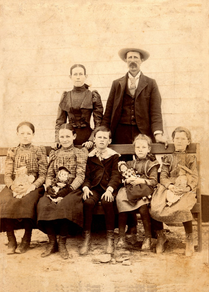 Old family photo for heritage travel insights