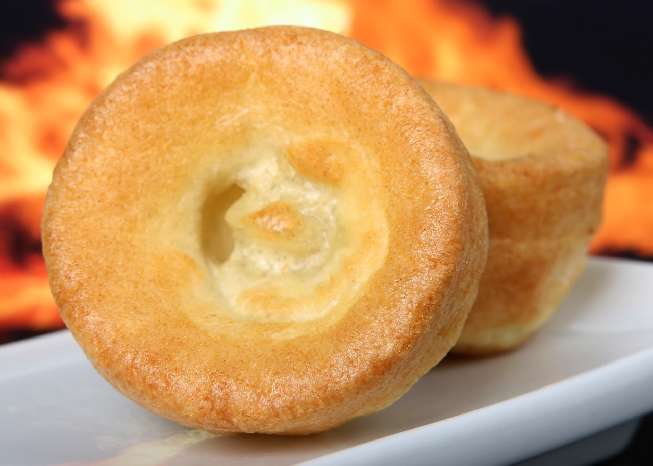 Yorkshire Pudding close-up