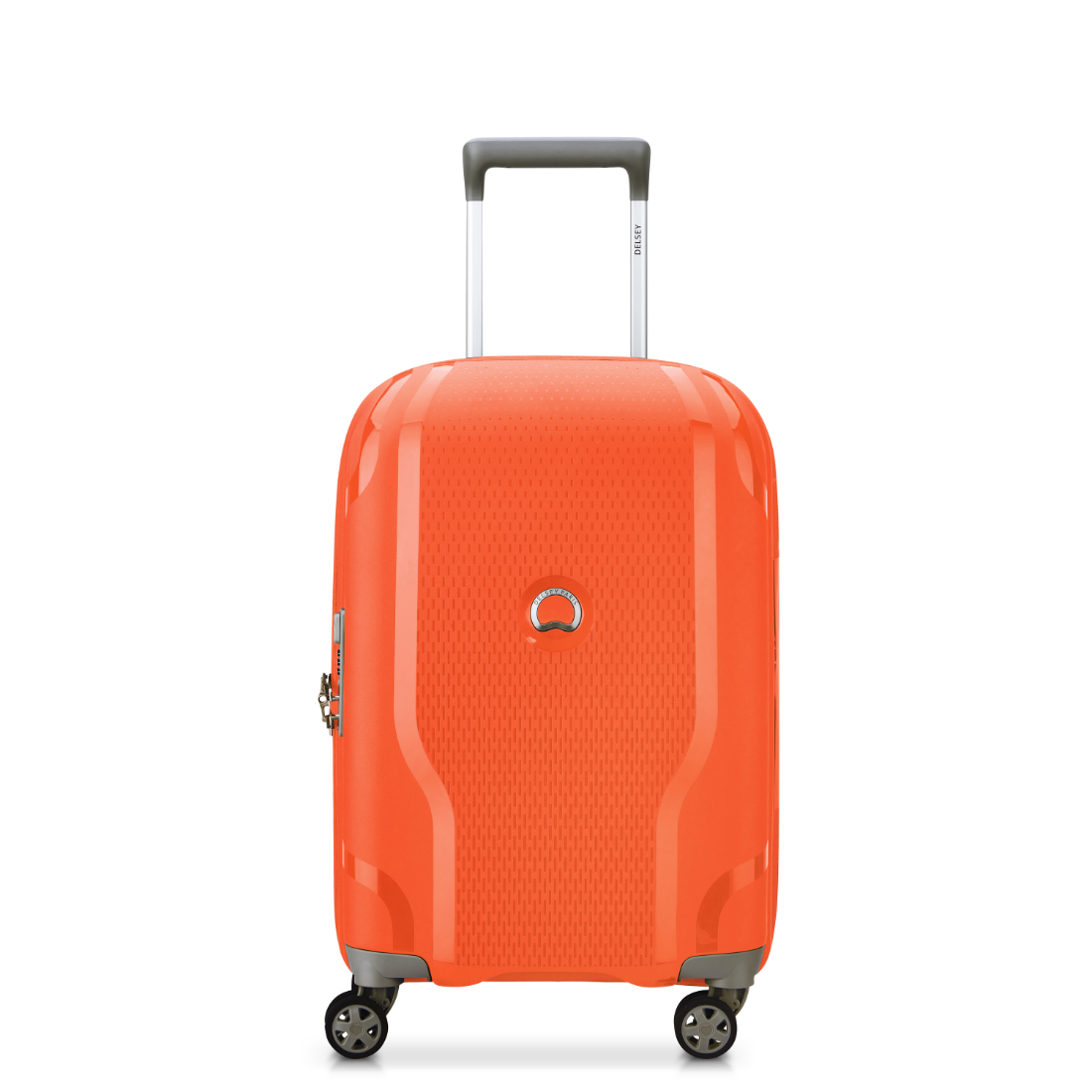 DELSEY luggage CLAVEL collection in orange