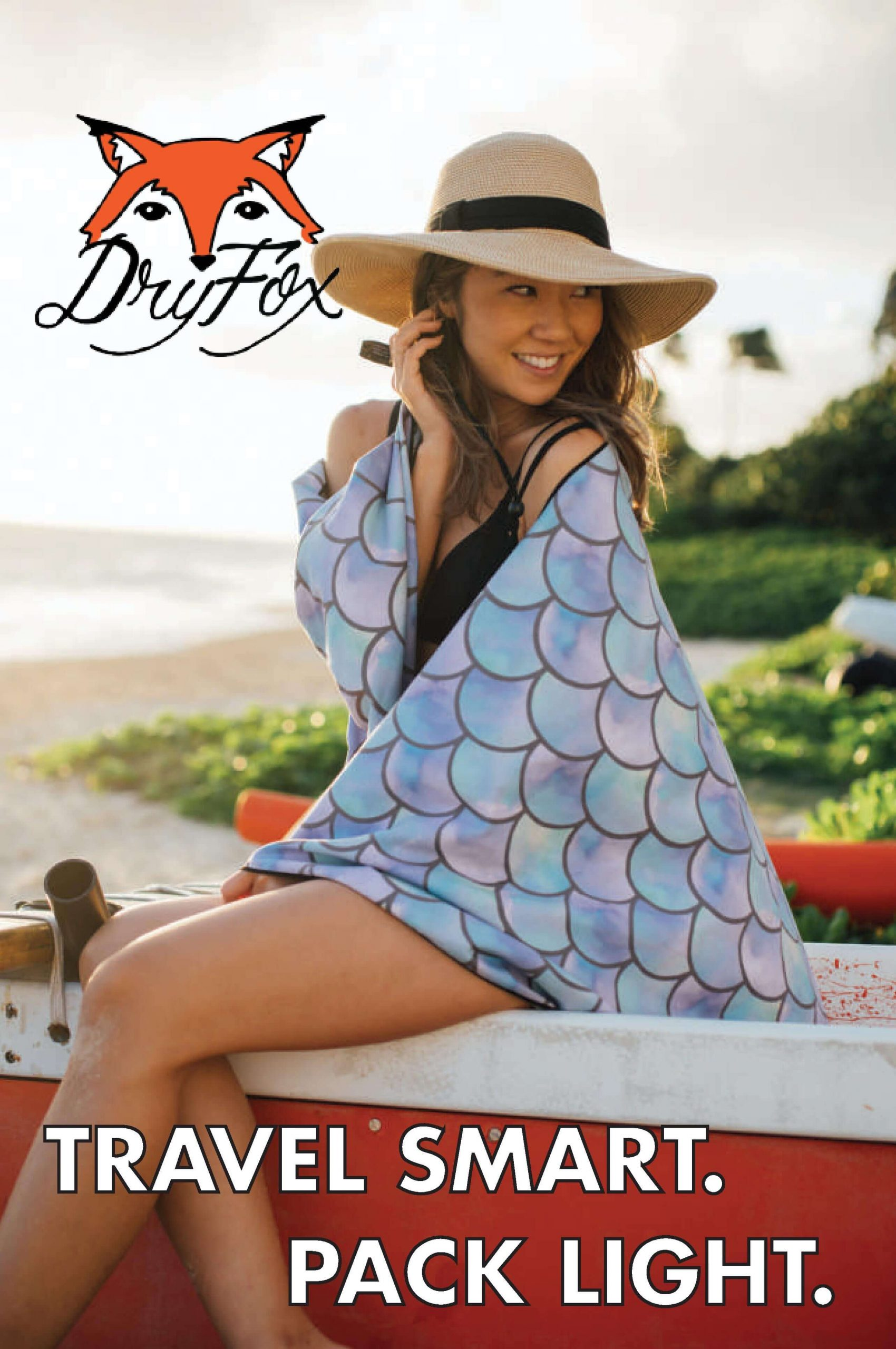 DryFoxCo Quick-Drying Towel Set