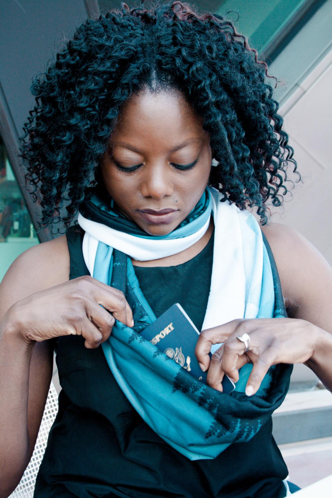 Waypoint Goods travel scarf