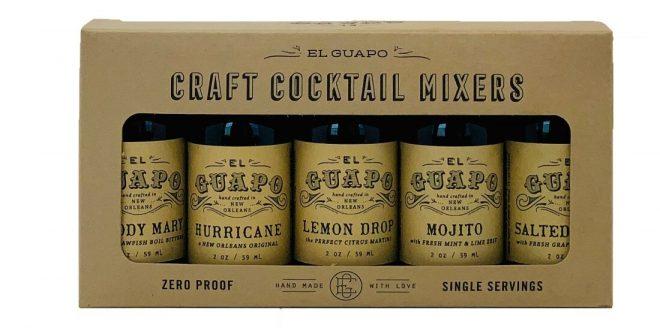 El Guapo craft cocktail set