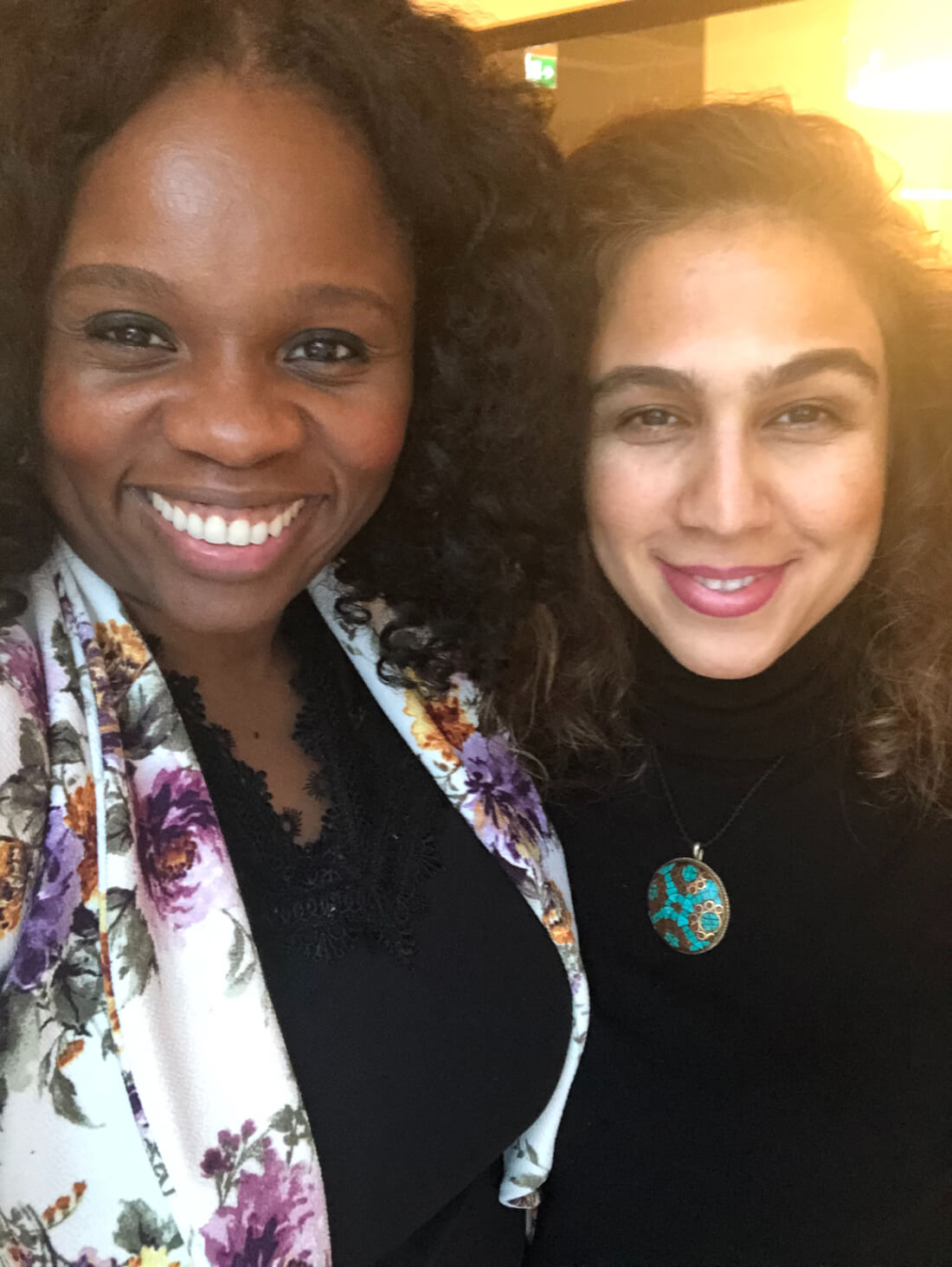 Local Purse virtual travel shopping founders, Lola Akinmade Åkerström and Sara Mansouri