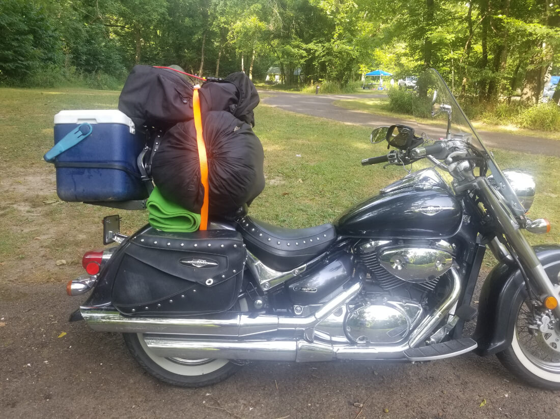 Motorcycle road trips with Teresa Willis of Sparkle Adventures